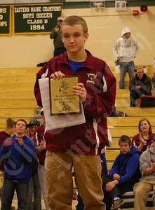John G.  with award