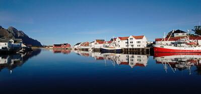 Harbour in Henningsvær