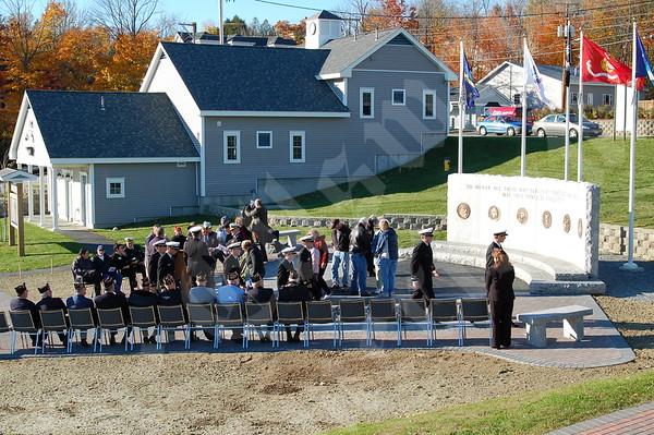 Bucksport Area Veterans Memorial Dedication: October 23, 2010
