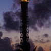 Port Cristobal, Panama<br /> Moon is up and Sun is down