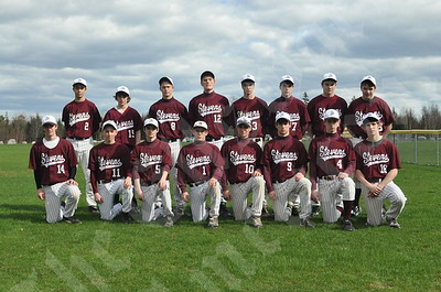 Members of the George Stevens Academy Eagle boys include (front, from left) Peter Howell, Schuyler Van der Eb, Jesse Dow, Josh Jones, Cameron Lawson, Sam Eley, Nick Kane and Gavin Rogers; and (rear, from left) Mariner Cheney, Jordan Lord, Cole Andrews, Josh Gale, Ben Olivari, Jared Reed, Tom Crowe and Josh Moody.