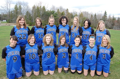 Members of the Sumner Tiger girls include (front, from left) Kiera Eschete, Haily Hooper, Lexi Tracy, Emily Leighton, Clarissa West, Maria Lockhart and Morgan Whitten; and (rear, from left) Sarah Lovely, Sarah Leighton, Raquel Eklund, Hunter Rivers, Emily Chipman, Ashley Pennartz and Jamie Hoglund. Absent from photo: Aleena Huff.