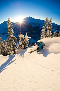 Skiing in the North Cascades, WA with Zack Giffin, Molly Baker and Jeff Campbell