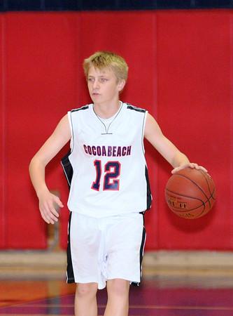 Cocoa Beach Boys Basketball 12/20/11