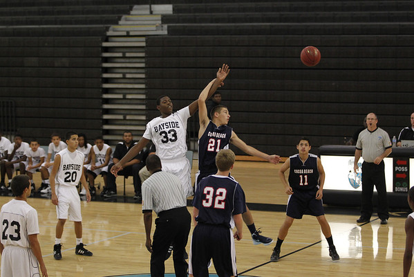 Cocoa Beach Boys basketball vs Bayside