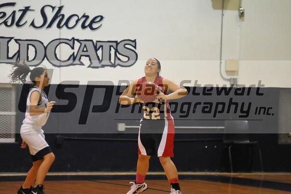 Cocoa Beach Girls Basketball vs West Shore