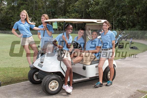 Heritage Girls Golf 9-12-12