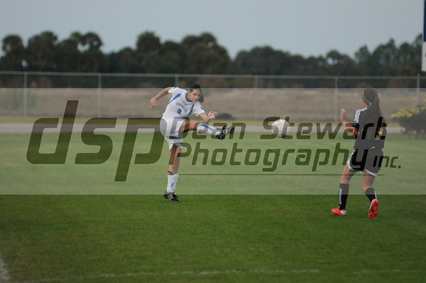 Heritage JV Girls Soccer 1-11-12