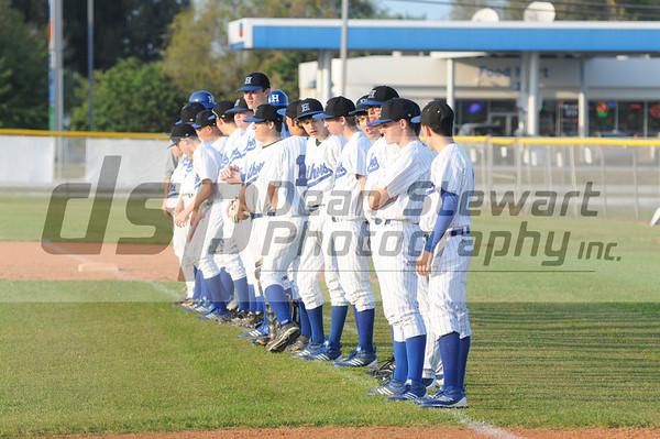 Heritage JV/V Baseball vs EGHS 2-29-12