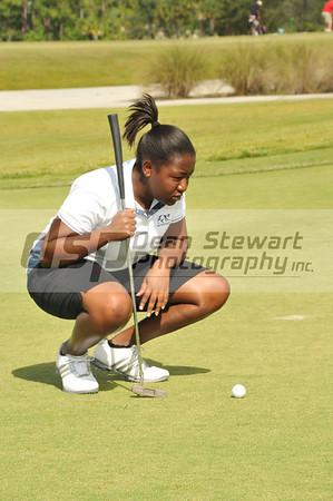 Heritage Varsity Girls Golf 10-6-11