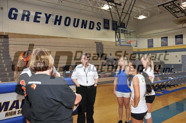 Lyman Girls Volleyball 10-3