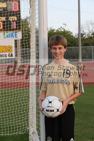 Merritt Island Boys JV V Soccer/Senior Night 1-10-12