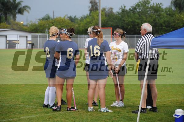 Merritt Island JV Girls Lacrosse vs EGHS 2-27-12