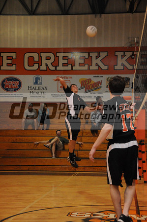 Spruce Creek Boys Volleyball 03-05-12