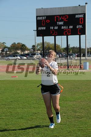 Spruce Creek Girls Varsity Flag Football 3-13-12