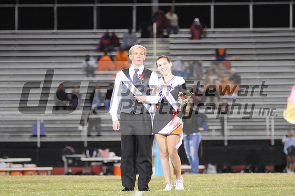 Spruce Creek Homecoming Court 10-20