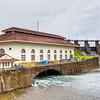 Gatun dam power generating station