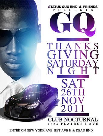 11/26/11 ( GQ ) THANKSGIVING