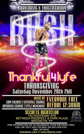 11/26/11   RUSH SATURDAY'S