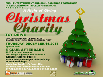 12/15/11 Christmas Charity Toy Drive