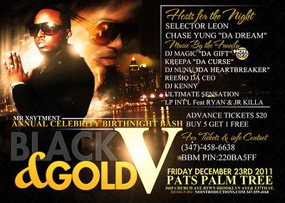 12/23/11 Gold & Black pt.5