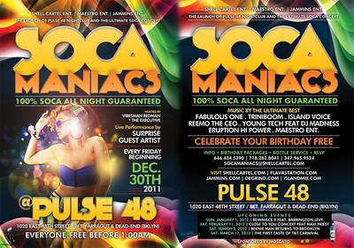 12/30/11 Soca Maniacs