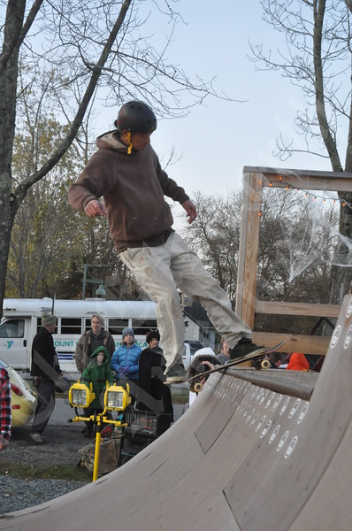 Halloween Grill Thrill and Ramp Jam
