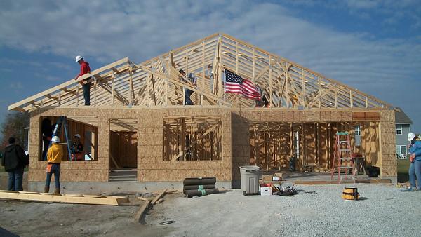 2011 Habitat Builds