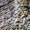 Rock wall - Crystal-like rock formations