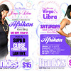 Ultimate Virgo& Libra Affair - Afrikan BDay
