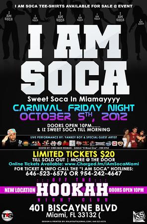 10/05/12 I Am Soca Miami