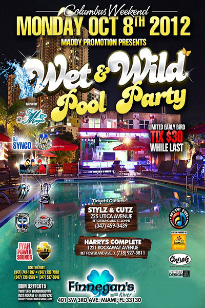 Wet & Wild Pool Party