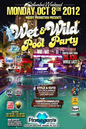 10/08/12 Wet N Wild Pool Party