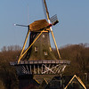 Windmill in Rotterdam - Origninal Dutch Windmill at the Kralingse Plas in Rotterdam, The Netherlands