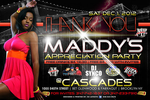 12/01/12 Maddy Appreciation Party