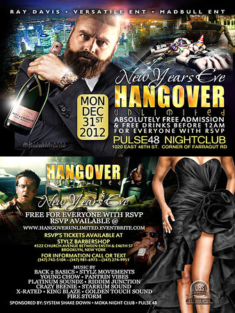 12/31/12 Hang Over Unlimited