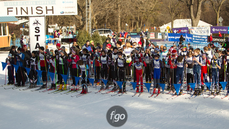 Junior Loppet Start_Panorama
