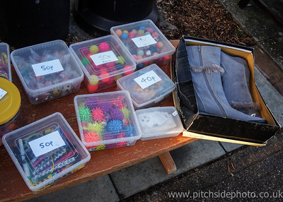 Items for sale inside the ground - Leamington v AFC Totton, Southern League, The New Windmill Ground, Leamington - 1/12/12 - ©Paul Paxford/Pitchside Photo. No unauthorised use. Contact Pitchsidephotography@gmail.com
