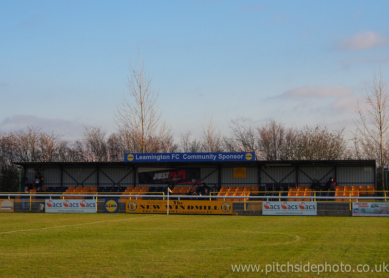 The main stand - Leamington v AFC Totton, Southern League, The New Windmill Ground, Leamington - 1/12/12 - ©Paul Paxford/Pitchside Photo. No unauthorised use. Contact Pitchsidephotography@gmail.com