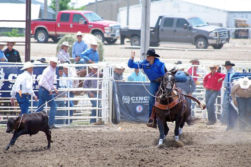 Tom and Spud, 2013 Nebraska High School Rodeo Finals