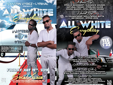 07/19/13 All White Everything