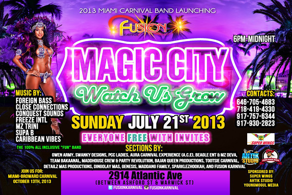 07/21/13 Fuzion Carnival Band Launch