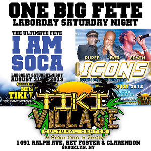 08/31/13 I Am Soca Meets Icons
