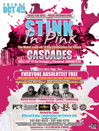 10/04/13 Stink In Pink