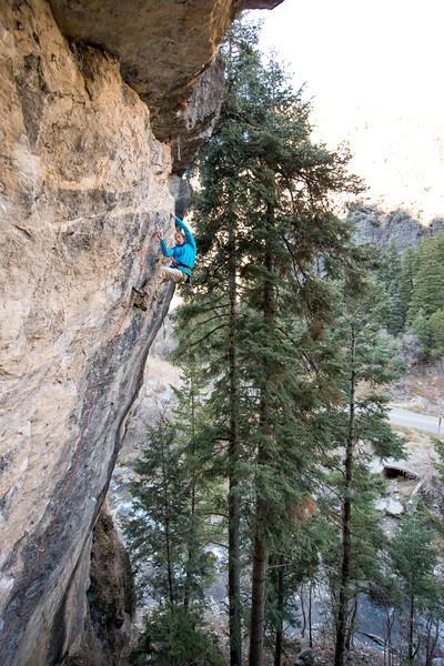 Climbing_American Fork Canyon_Utah_photo by Gabe DeWitt_November 02, 2013-69-2