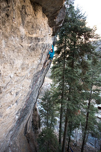 Climbing_American Fork Canyon_Utah_photo by Gabe DeWitt_November 02, 2013-26