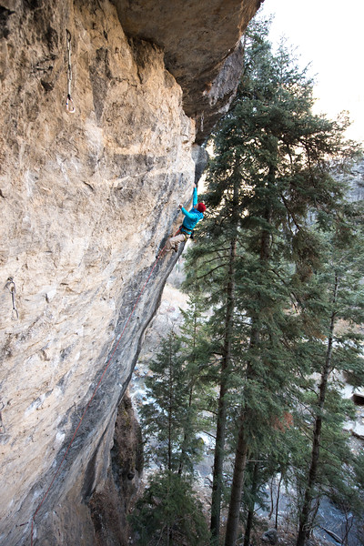 Climbing_American Fork Canyon_Utah_photo by Gabe DeWitt_November 02, 2013-24