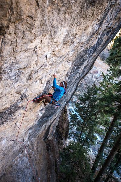 Climbing_American Fork Canyon_Utah_photo by Gabe DeWitt_November 02, 2013-100