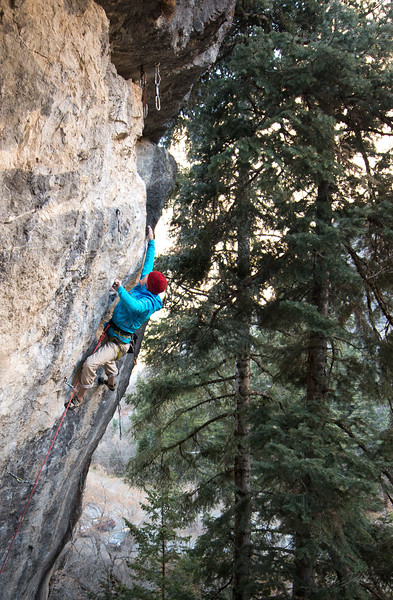 Climbing_American Fork Canyon_Utah_photo by Gabe DeWitt_November 02, 2013-19