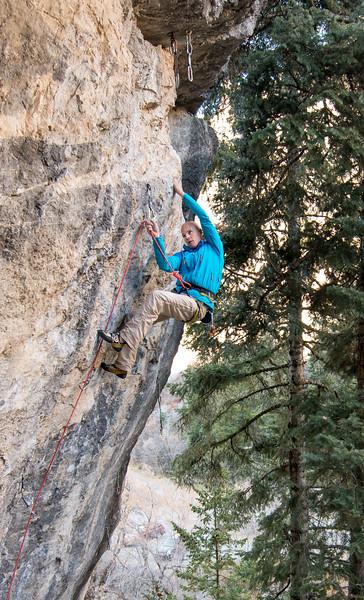 Climbing_American Fork Canyon_Utah_photo by Gabe DeWitt_November 02, 2013-69